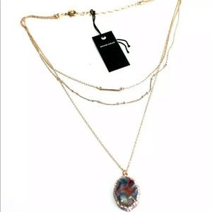 Baublebar multi layer necklace